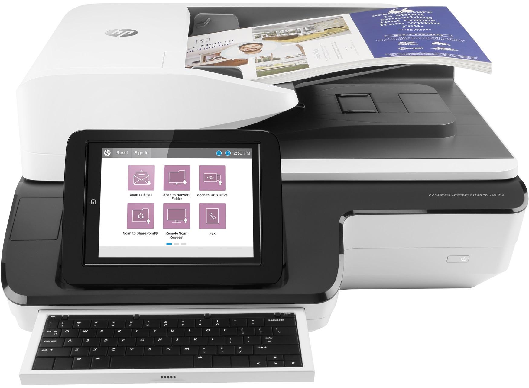 HP Scanjet N9120 fn2, bản nâng cấp đáng giá của N9120