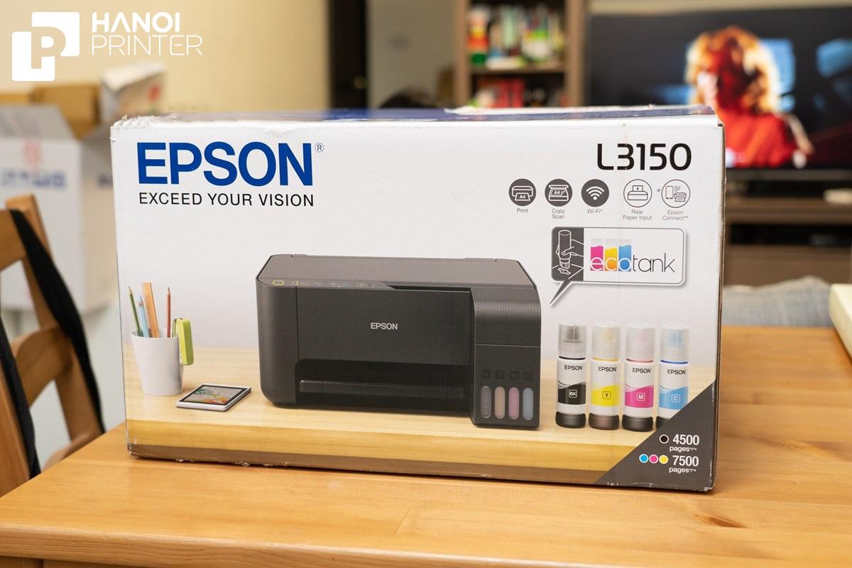 So sánh máy in Epson phiên bản L3150 và L3110