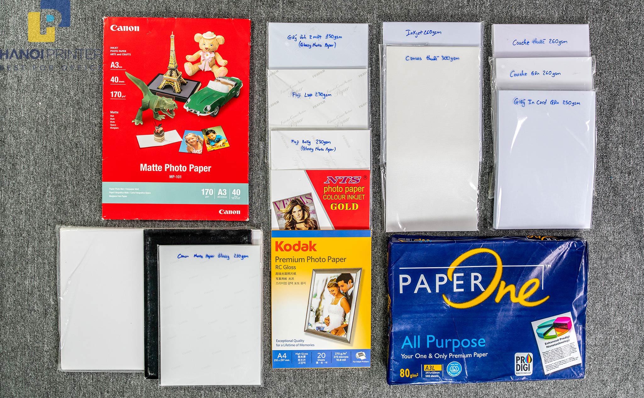 Chia sẻ cách phân loại giấy ảnh và các lưu ý khi in, chọn mua