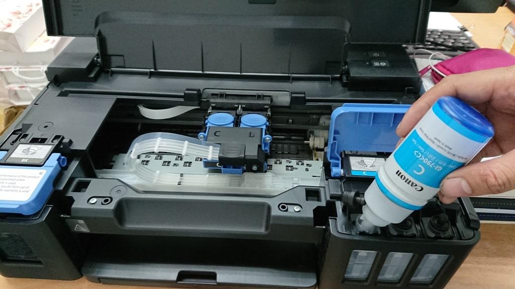 Dịch vụ đổ mực máy in giá rẻ Hà Nội - Lưu ý khi đổ mực máy in