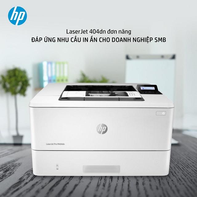 Những tính năng nổi bật của máy in đen trắng HP 404dn