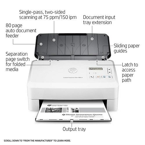 Máy scan HP tốc độ cao 7000s3 và những điều bạn chưa biết