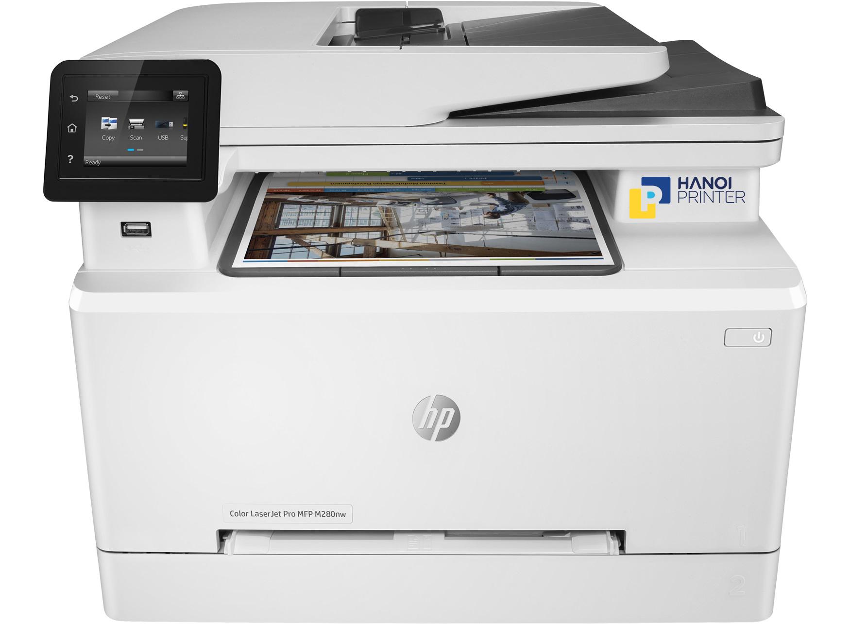 Máy in Laser màu đa năng HP LaserJet Pro MFP M280nw