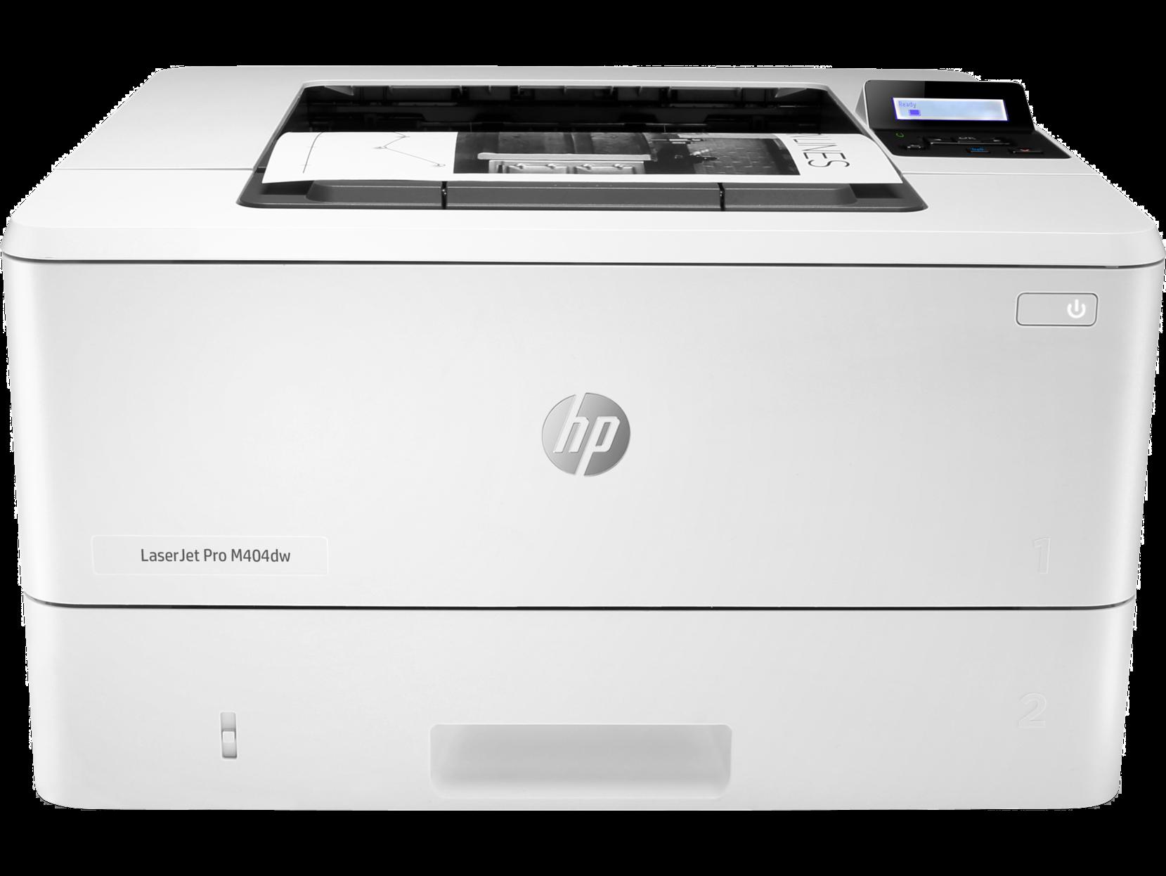 Máy in đen trắng HP LaserJet Pro M404dn