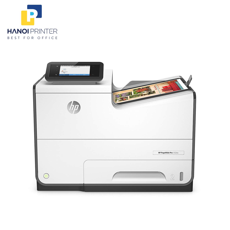 Máy in phun màu HP PageWide Pro 552dw NGUYÊN BẢN (in siêu nhanh)