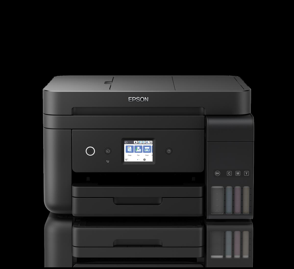 Máy in phun màu đa năng L6190 (In, Scan, Copy, Fax khay ADF)