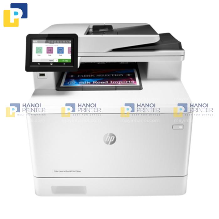Máy in Laser màu đa năng HP Color LaserJet Pro MFP M479dw (in, copy, scan)