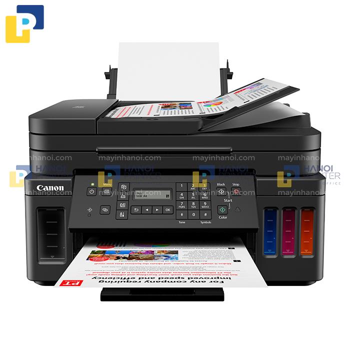 Máy in phun màu đa năng Canon PIXMA G7070 - Wifi (in, scan, copy, fax, ADF)