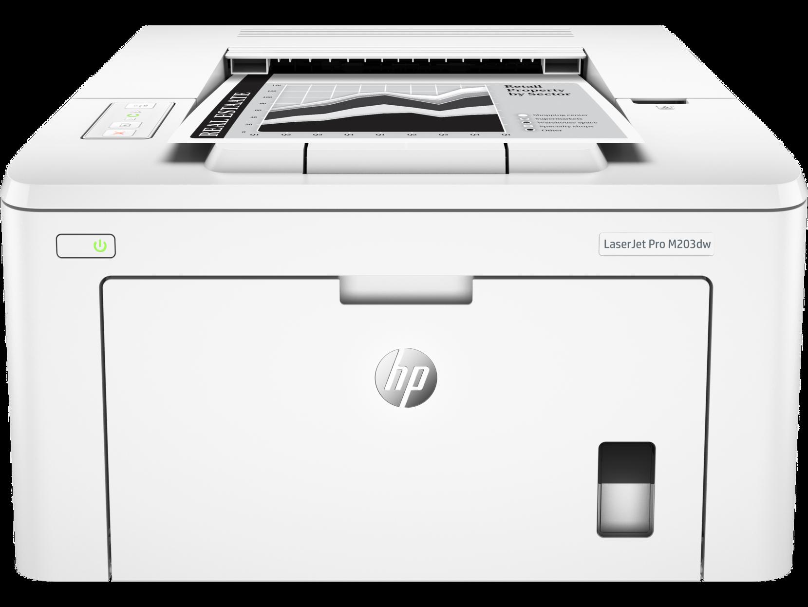 Máy in HP LaserJet Pro M203dw