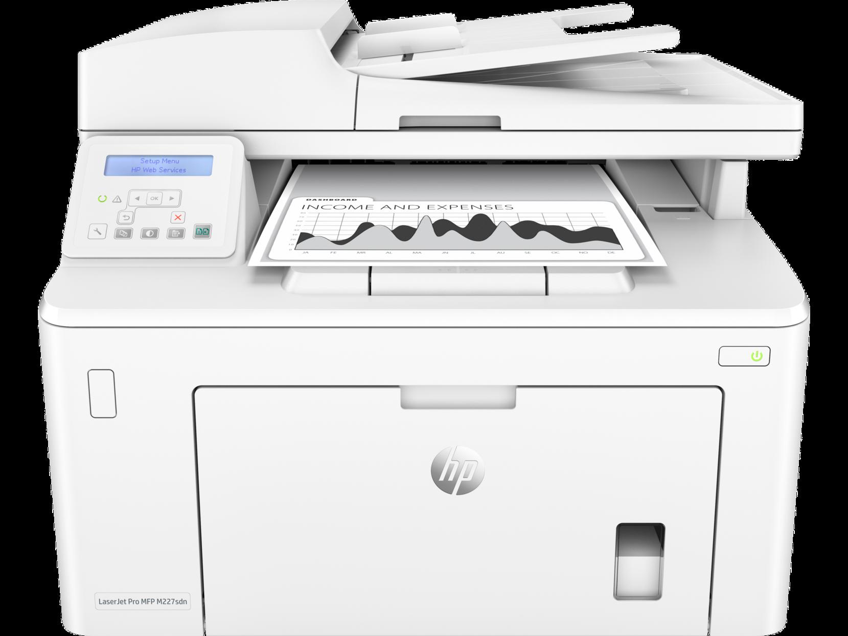 Máy in đa năng HP LaserJet Pro MFP M227sdn (in, scan, copy)