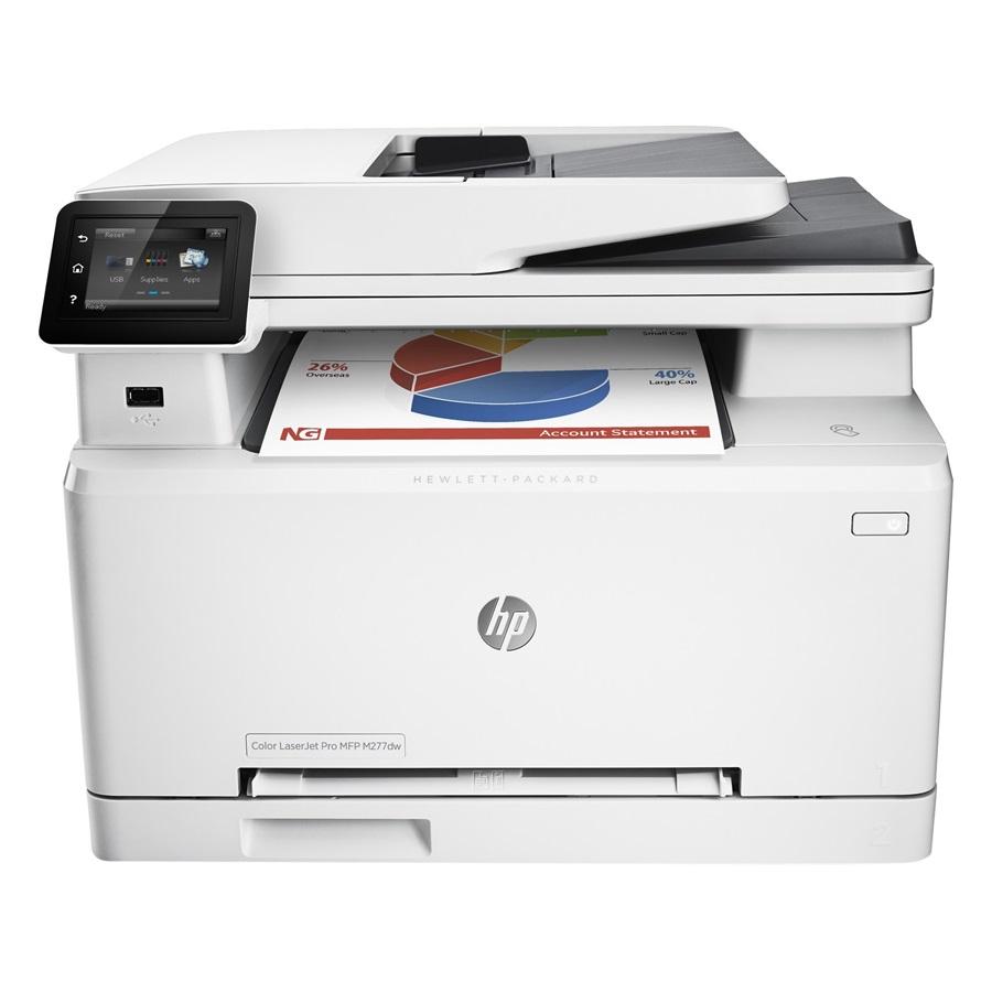 Máy in màu đa chức năng HP Color LaserJet Pro MFP M277dw (in, scan, copy, fax)