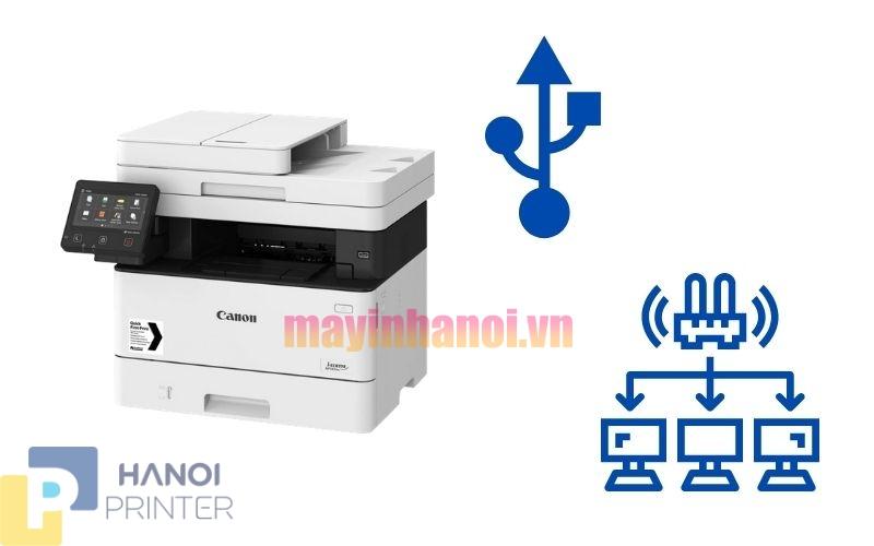 Máy In Laser Canon MF 443DW, Đa Năng, Đảo Mặt, In,Scan 2 Mặt