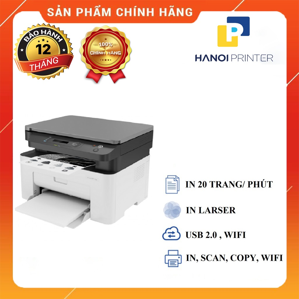 Máy in laser đen trắng đa chức năng HP 135W - 4ZB83A (IN,SCAN,COPY)