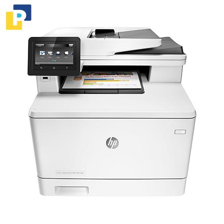 Máy In màu đa năng HP LaserJet Pro MFP M477fdw