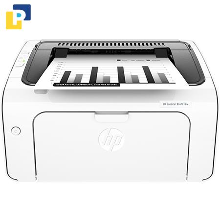 Máy in đen trắng HP LaserJet Pro M12w - Wifi